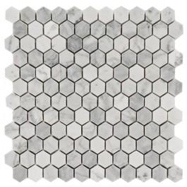 Arabescato Carrara Hexagon 12X12 Honed