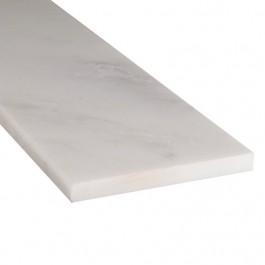 Arabescato Carrara 6X37 Single Beveled