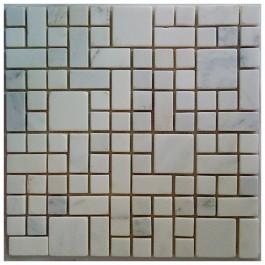 Arabescato Carrara Magic Pattern