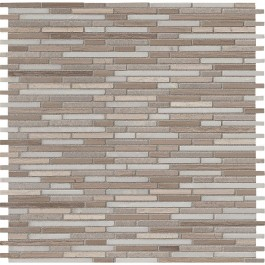 Arctic Storm Bamboo 12X12 Honed