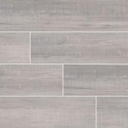 Belmond Pearl 8X40 Grey Matte Ceramic Tile