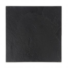 Black 12X12 Flamed Slate Tile