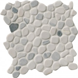 Black and White Pebbles 12X12 Tumbled