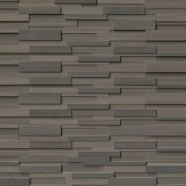 Brown Wave 6x24 3D Honed Ledger Panel