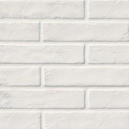 Capella White 2X10 Brick Pattern Matte Porcelain Tile