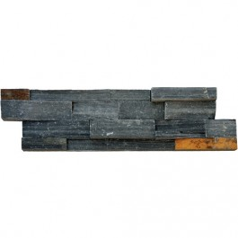 Charcoal Rust Ledger Panel 6x24 Split Face