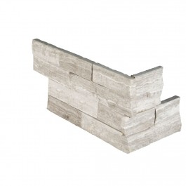Classico Oak 6x12x6 Split Face Corner Ledger Panel