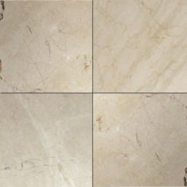 Crema Marfil Polished 12X12