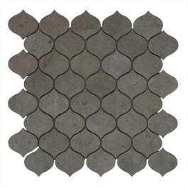 Drople Dark Gray 11X12 Honed Mosaic