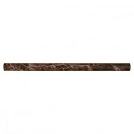 Emerador Dark Pencil 3/4X3/4X12 Honed