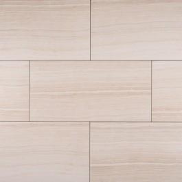 Eramosa White 12x24 Glazed