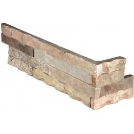 "Fossil Rustic ""L"" Corner 6X24 Split Face"