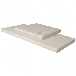 Tuscany Scabas 12X24 Tumbled Bullnose Coping