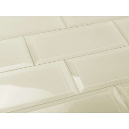 Frosted Elegance Cecilia 3X12 Glass Subway