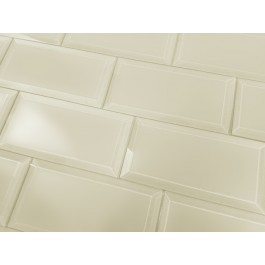 Frosted Elegance Cecilia 3X6 Glossy Subway Glass