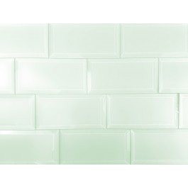 Frosted Elegance Marie 3X6 Glossy Glass Subway