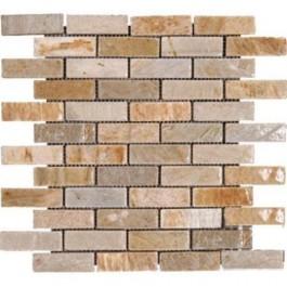 Golden White Brick 12X12 Tumbled