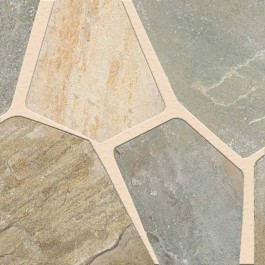 Golden White Random Flagstone