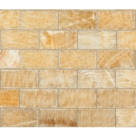 Pineapple Onyx 3x6 Polished Subway Tile
