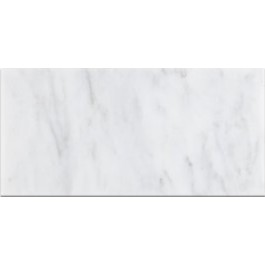 Oriental White 12x24 Honed Marble Tile
