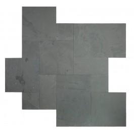 Montauk Black 16 Sqft x 10 Kits Natural Paver
