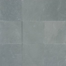 Montauk Blue 24X24 Gauged Slate Floor Tile