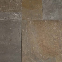 Pennsylvania Bluestone 12X12 Natural Cleft / Sawn Edge
