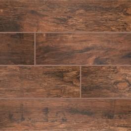 Redwood Mahogany 6x24 Glazed