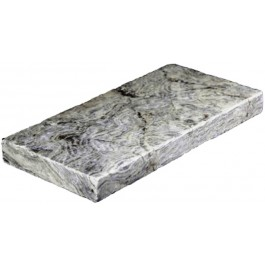 Silver Travertine Paver 8X16 Honed Unfilled Tumbled