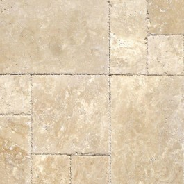 Tuscany Beige 16 Sqft/Kit x 10 Honed /Unfilled/Tumbled
