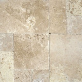Tuscany Storm 16sqft Pattern Honed Unfilled Chipped Brushed