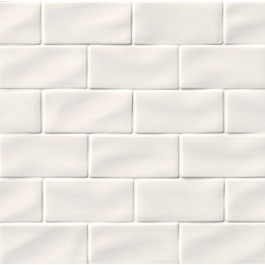 Whisper White Handcrafted 3x6 Glazed