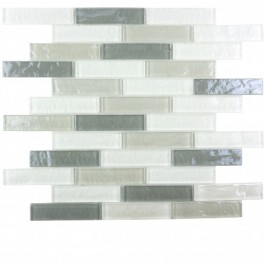 Geo Collection 1x4 Whistler Tile Wide Linear