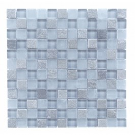 Mineral Collection 1 x 1 Gray Glass