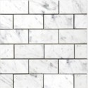 Carrara 3x6 Polished Marble Subway Tile