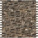 Emperador Dark 12X12 Splitface Mosaic