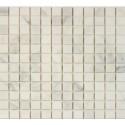 Oriental White 1x1 Honed Mosaic