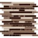 Royal Oaks Blend Interlocking 8MM Mosaic