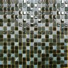 Black Marquee Glass Stone Blend 5/8x5/8