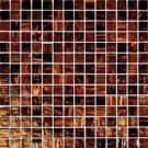 Brown Iridescent 3/4x3/4x4MM