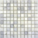 Carrara 1x1 Polished Marble Mosaic