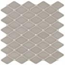 Dove Gray Diamond 12X12 Glossy Mosaic