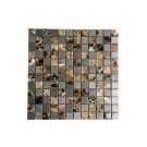 "Oddysey Subway 3""× 6""  Stainless Steel Mosaic"