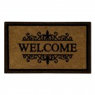 Flocked Gatwik Natural Coir 22X36 Door Mat
