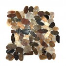 Forrest 12X12 Interlocking Flat Pebble Tile