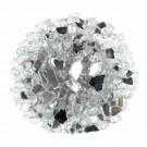 Glacial Silver 1.27 CM 20 LBS Crystal Reflective Fireglass