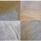 Golden White Gauged On Back-Sides Sawn Cut 12X24