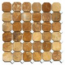 Autumn Gold Octagon 12x12 Interlocking Polished