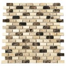 Crema Mocha Blend Interlocking 12x12 Polished