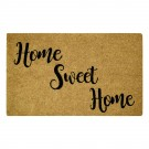 Home Sweet Home Black Natural Coir 22X36 Door Mat